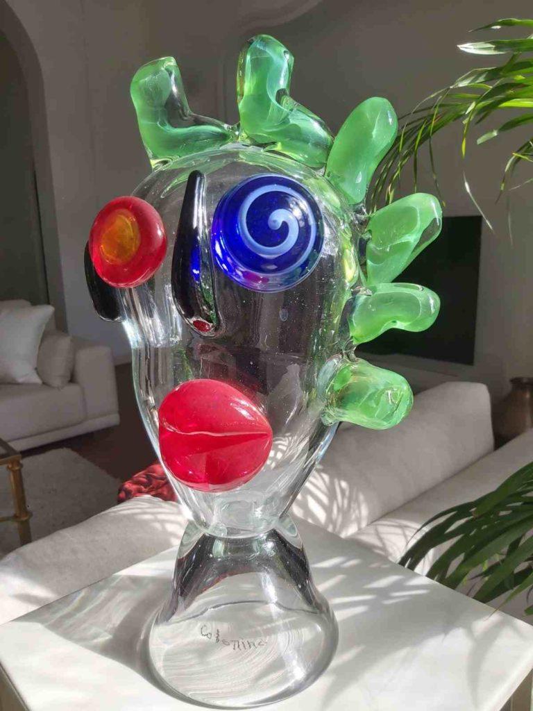 Sculpture en verre #4
