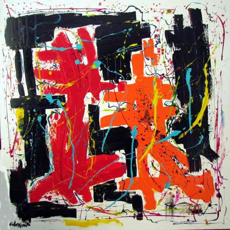 Art Abstrait Colomina