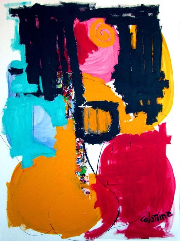 Pero que guapa 130x97 cm - Peinture Jorge Colomina