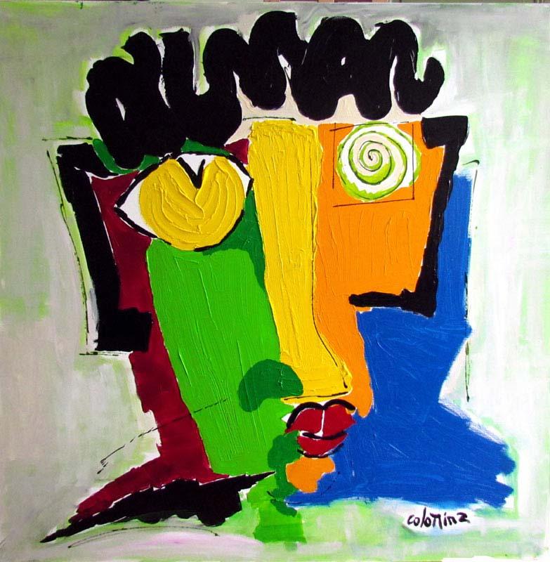 art figuratif - Jorge Colomina artiste peintre contemporain