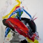 Torero, peinture sur toile