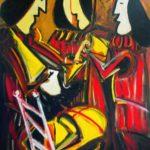 Peinture de Colomina - Les 4 litres d'eau, de la série à thème sur L'inquisition