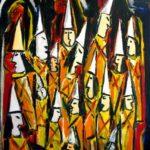 Peinture de Colomina - Prison de pénitence, de la série à thème sur L'inquisition