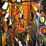 Peinture de Colomina - Rêve italien, de la série à thème sur L'inquisition
