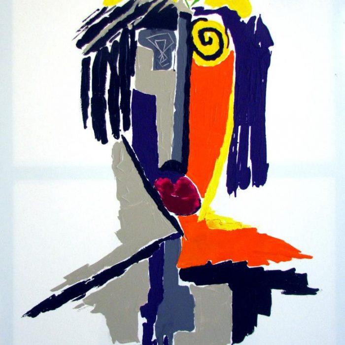 La simplicité - Peinture Jorge Colomina