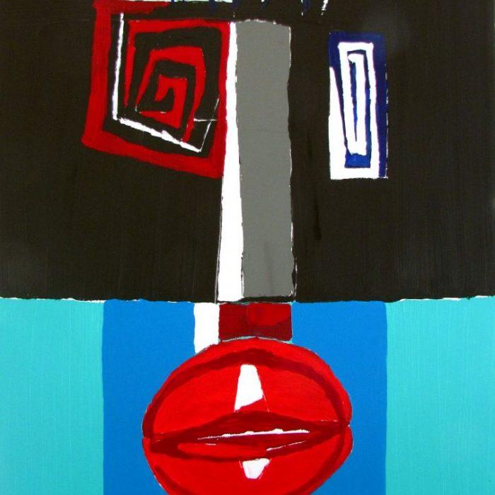 Le mage - Peinture Jorge Colomina