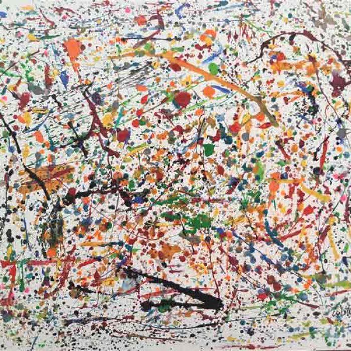 Abstrait - Peinture Jorge Colomina