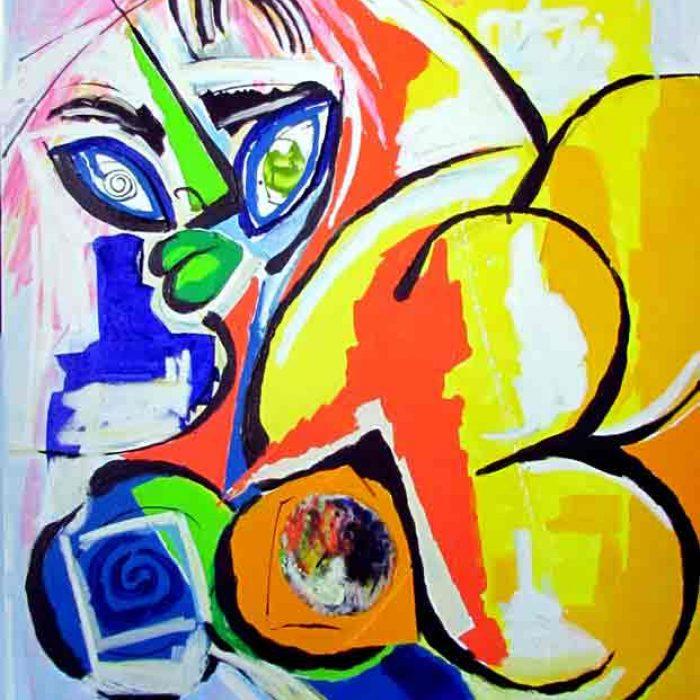 Peinture sur toile Colomina - La Gata